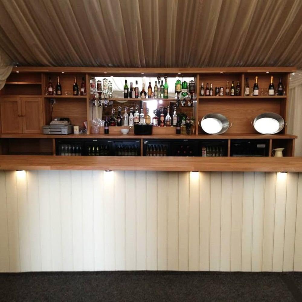 Timber bar furniture
