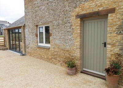 Leys Farm timber door