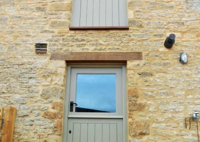 handpainted wooden doors